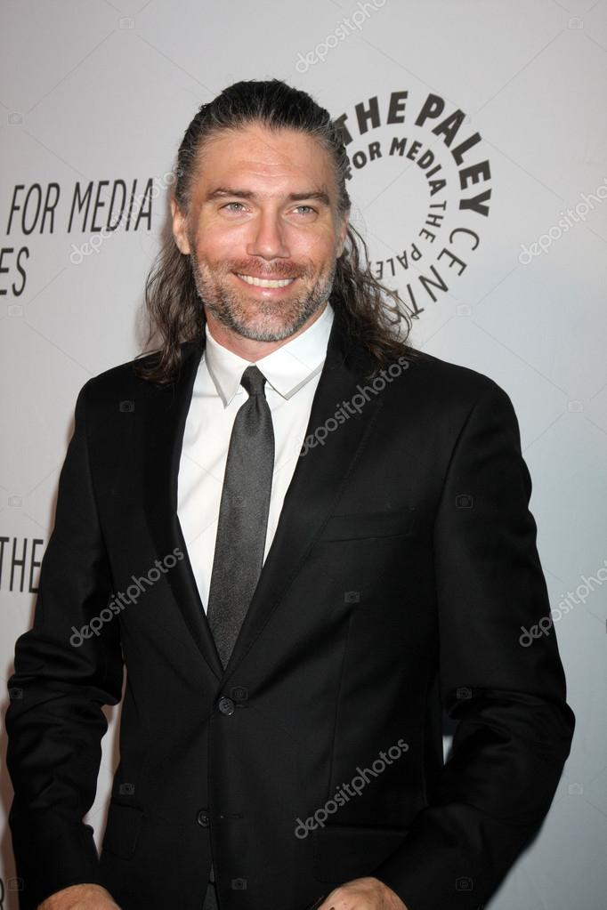 LOS ANGELES - OCT 22:  Anson Mount arrives at  the Paley Center for Media Annual Los Angeles Benefit at The Lot on October 22, 2012 in Los Angeles, CA  Stock Photo #13900663