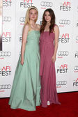 Elle Fanning, Alice Englert — Stock Photo