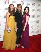 Destry Allyn Spielberg, Kate Capshaw, Sasha Spielberg — Stok fotoğraf
