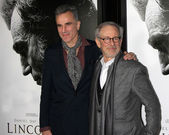 Daniel Day-Lewis, Steven Spielberg — Stock Photo