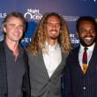 Sam Trammell, Rob Machado, Sal Masekela — Stock Photo #14742661