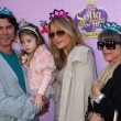 Lou Diamond Phillips, daughter Indigo Sanara Phillips and wife Yvonne Marie Boismier - Stock Photo