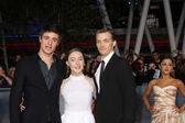Max Irons, Saoirse Ronan, Jake Abel — Stock Photo