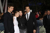 Max Irons, Stephenie Meyer, Saoirse Ronan, Jake Abel — Stock Photo
