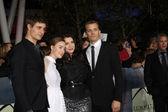 Max Irons, Stephenie Meyer, Saoirse Ronan, Jake Abel — Stock Photo