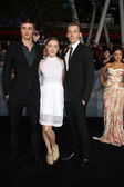 Max Irons, Saoirse Ronan, Jake Abel — Stock Photo