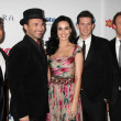 Katy Perry, The Tenors — Stock Photo