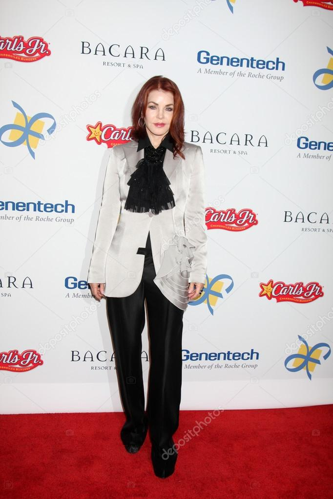 LOS ANGELES - NOV 16: Priscilla Presley arrives for the 11th Annual Celebration of Dreams at Bacara Resort & Spa on November 16, 2012 in Santa Barbara, CA.  — Stock Photo #15186973