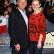 Frank Marshall and daughter — Stock Photo