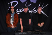 RUSH - Geddy Lee, Neil Peart, Alex Lifeson — Stock Photo