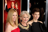 Toni Collette, Helen Mirren, Jessica Biel — Stock Photo