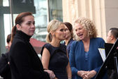 Ana Martinez, Kristin Chenoweth, Carole King — Stock Photo