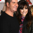 Simon Cowell, Demi Lovato — Stock Photo