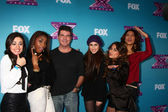 Fifth Harmony, Simon Cowell — Stock Photo