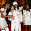 Paige Thomas, Lyric Da Queen, Jennel Garcia, Diamond White - Stock Photo