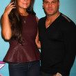 Sammi 'Sweetheart' Giancola, Ronnie Ortiz-Magro — Stock Photo