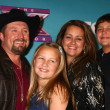 Stock Photo: Tate Stevens - Winner of 2012 X Factor, with his family