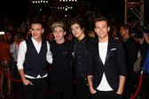 Liam Payne, Niall Horan, Harry Styles and Louis Tomlinson — Foto de Stock