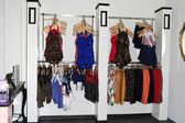 Pinup girl boutique, atmosphäre — Stockfoto