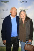 Robert Loggia, Audrey Loggia — Stock Photo