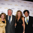 Постер, плакат: Dorothy Best James Best Janeen Damian Michael Damian arrives at the Hallmark Channel