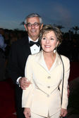 Senator Barbara Boxer and husband — Stock Photo
