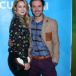 Kristen Hager, Sam Huntington — Stock Photo