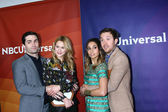 Sam Witwer, Meaghan Rath, Kristen Hager, Sam Huntington — Stock Photo