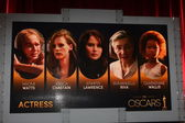 Actress Nominations — Foto Stock