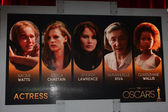 Actress Nominations — Stock Photo