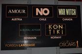 Nomination pellicola di lingua straniera — Foto Stock