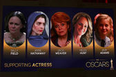 Supporting Actress Nominations — Stock Photo