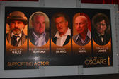 Supporting Actor Nominations — Stock Photo