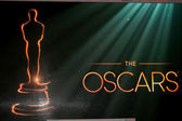 Logotipo do oscar — Foto Stock
