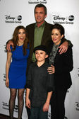Eden Sher, Neil Flynn, Patricia Heaton, Atticus Shaffer — Photo