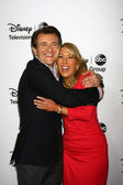 Robert Herjavec, Lori Greiner — Stock Photo