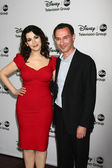 Nigella Lawson, Paul Lee — Stock Photo