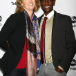 MelissRosenberg, Edi Gathegi — Stock Photo #18630097