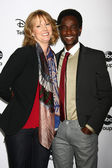 Melissa Rosenberg, Edi Gathegi — Stock Photo