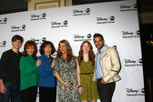 Justin Prentice, Reba McEntire, Lily Tomlin, Sara Rue, Juliette Angelo, Jai Rodriguez — Stock Photo