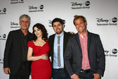 Anthony Bourdain, Nigella Lawson, Ludo Lefebvre, Brian Malarkey — Stock Photo