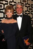 Jane Fonda, Sam Waterson — Stock Photo
