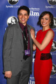 Ralph Macchio, Karina Smirnoff — Stock Photo
