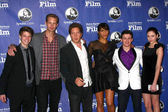 Colin Ford, Alexander Skarsgard, Henry Alex Rubin, Paula Patton, Aviad Bernstein, Haley Ramm — Stock Photo