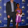 Benh Zeitlin, Quvenzhane Wallis — Stock Photo