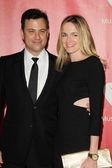 Jimmy Kimmel, Molly McNearney — Stock Photo