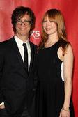 Ben Folds, Alicia Witt — Stock Photo