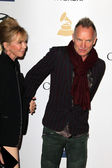 Trudie Styler, Sting — Stock Photo