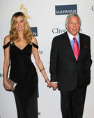 Ricki Lander, Robert Kraft — Stock Photo