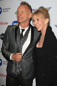 Sting, Trudie Styler — Stock Photo